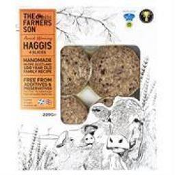 The Farmer's Son Haggis Slices, 220g