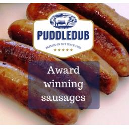 Puddledub Gluten-Free Pork Sausages, 450g