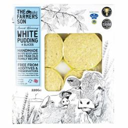 The Farmer's Son White Pudding Slices, 220g