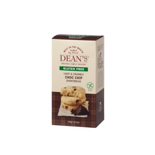 Dean's Gluten Free Chocolate Chip Shortbread 150g