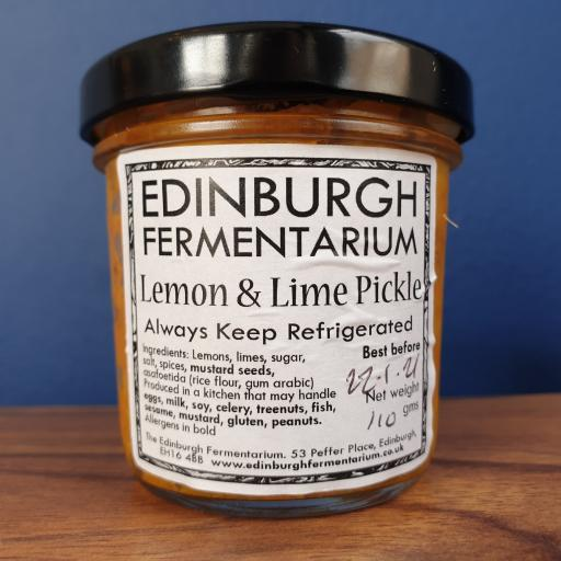 Edinburgh Fermentarium Lemon & Lime Pickle
