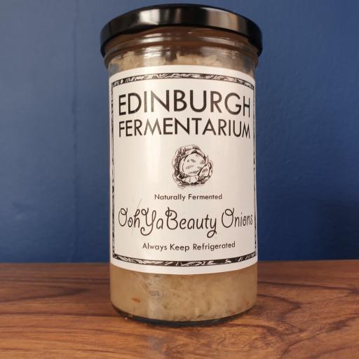 The Edinburgh Fermentarium Oohya beauty Onions